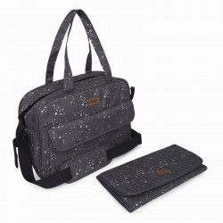BOLSA MATERNIDAD + CAMBIADOR WEEKEND CONSTELLATION GRIS